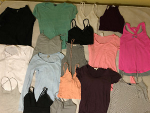 Variety of Women's Clothes