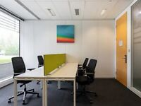 Modern furnished Co-working office space at Chertsey, Hillswood Business Park