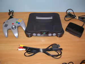 N64 System Console 1 Grey controller Nintendo 64