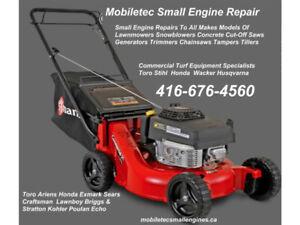 Mobiletec Lawnmower Snowblower Repair Service