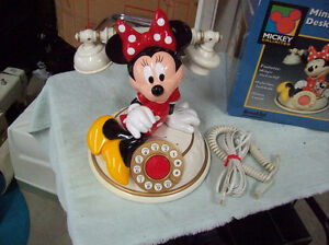 DISNEY MINNIE MOUSE TELEPHONE