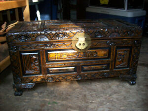 Cedar-lined hope chest