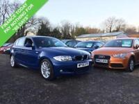 2007 56 BMW 1 SERIES 116I 1.6 M SPORT 5DR 114 BHP