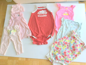 Baby Girl Cute Clothes (6-12 m.) (7 = $1.40ea.) GAP, Root, Jumpe