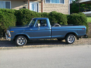 beautiful classic Ford pick up