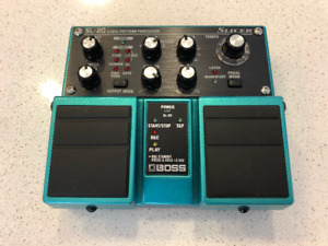 Boss SL-20 Slicer - Twin Pedal - Audio Pattern Processor