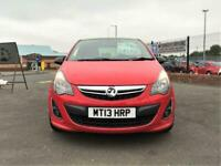 VAUXHALL CORSA LIMITED EDITION 2013 Petrol Manual in Red