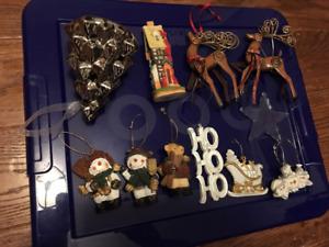 FREE - FEW CHRISTMAS ORNAMENTS