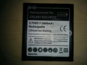 Samsung Galaxy S4 replacement battery