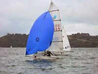 topper buzz 859 sailing dinghy