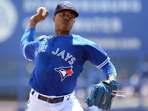 Blue Jays tickets Sunday, April 30, Stroman jersey day, 10th row