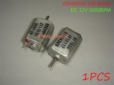 Dc 12v 5000rpm Johnson 130 Dc Motor Micro Small Motor Rc Car Toy Hobby Model
