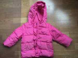 Gap snowsuit - pink, size 3T - worn by one child for one year