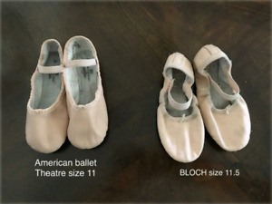 Ballet shoes FREE / $15.00