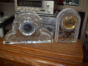 PRINCESS HOUSE CRYSTAL QUARTZ CLOCKS