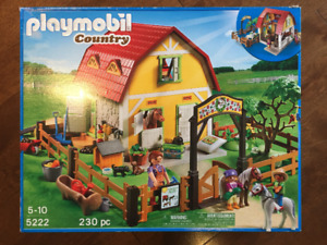 PLAYMOBIL Country 230 pc. morceaux 5-10