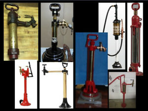 ⛽Wanted antique vintage hand kerosene gas pumps⛽