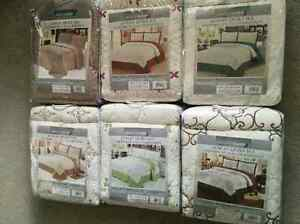 Luxury Embroidered 3 PC Quilt Sets (Bedding) Queen size