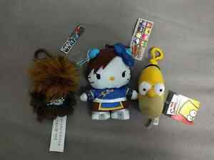Mint condition Keychain Bag plushies