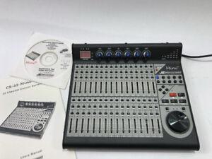 JL Cooper CS-32 MiniDesk mixer midi complet Seulement 399.95$!