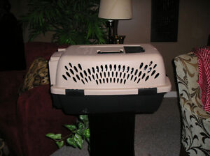 Pet carrier for dog or cat travel
