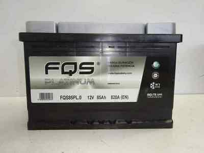 BATERIA 85AH(medida DE 75AH) 760A ISO 9001 FQS VIPIEMME 2AÑOS GARANTIA,1ªMARCA
