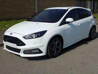 15(15) FORD FOCUS ST-3 ST3 DIESEL 2.0 TDCI 185PS, RECARO LEATHER, SYNC2, SUNROOF