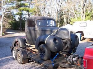 1940 Ford Pickup project truck and parts for sale