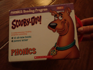 Scooby-Doo phonics books