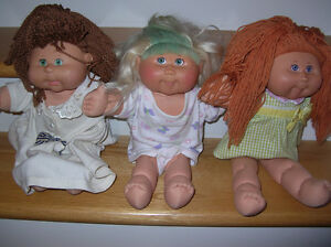 Cabbage Patch Dolls Lot of 3
