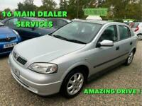 2003 Vauxhall Astra CLUB 16V 5-Door Auto Hatchback Petrol Automatic