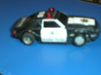 VINTAGE 1980`S TYCO FORD MUSTANG POLICE SLOT CAR #2