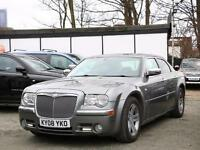 2008 Chrysler 300C 3.0 CRD Turbo Diesel Auto Sunroof Sat Nav Full Leather Heated