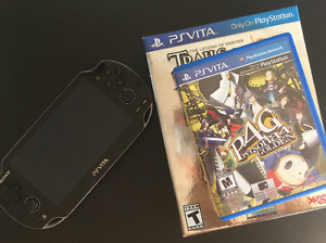 PlayStation Vita + Persona 4 & Trails of Cold Steel