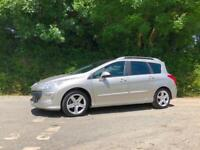 2009 59 PEUGEOT 308 SW ESTATE 1.6 HDI XR 110 7 SEATER EXCEPTIONAL CONDITION