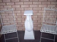 White Bistro Set with Table