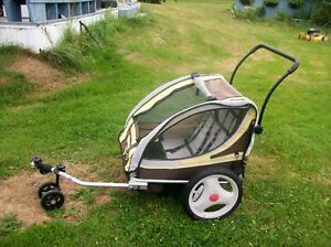 USED BELL DOUBLE BIKE TRAILER