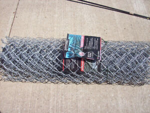 Fencing galvanized about 40 ft