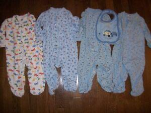 Cherokee & Bundle of Joy Boys Sleepers, 6-12 months