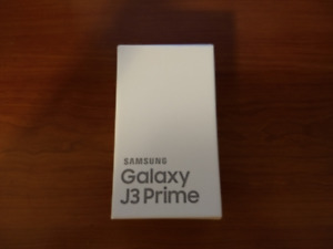 Brand New Samsung Galaxy J3 Prime