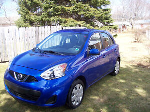 **REDUCED $13000.** 2015 Nissan MICRA SV Only 11,500 KM Excellen