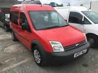 FORD Tourneo Connect TDCI LWB, Red, Manual, Diesel, 2007