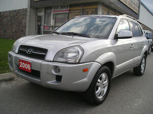 2006 Hyundai Tucson AWD LEATHER SUNROOF