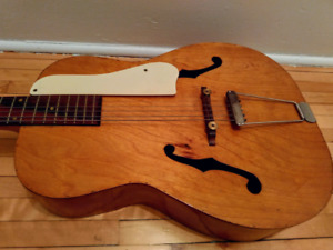 Archtop guitar for project