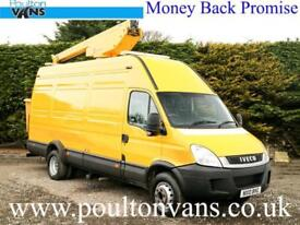 2010 (10) IVECO DAILY 65C17 EXTRA HIGH RF TDA150 CHERRY PICKER 3.0