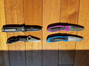 Selling Spyderco, Kershaw's, and Ontario  (No low ballers)