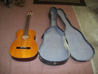 SHIMA JN-70 ACOUSTIC GUITAR WITH CASE