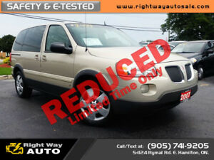 2007 Pontiac Montana | **FALL SALE**