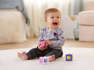 NEW: Fisher-Price Roller Blocks Flowers and Numbers