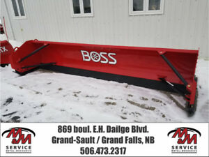BOSS Snowplow Skid Steer Pusher SK-12